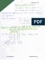 Επίλυση Συστήματος Με Μέθοδο Cramer