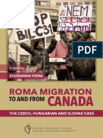Roma Migration to and from Canada