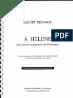 A Helene - Xenakis
