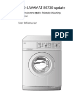 AEG LAV86738W User manual