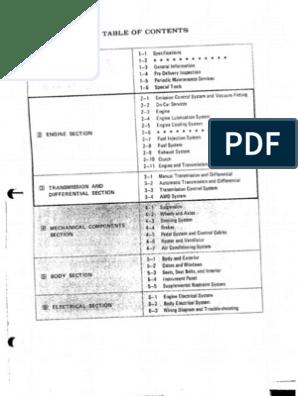 1992 subaru service manual engine \u0026 wiring subaru wiring diagram color codes repair guides