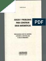 JUEGOS Y PROBLEMAS PARA CONSTRUIR IDEAS MATEMÀTICAS.PDF