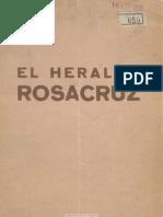 El Heraldo Rosacruz. 1-1935, No. 1