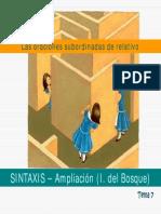 VII.1) La oraciones subordinadas de relativo.pdf