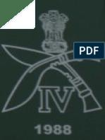 4th Gorkha Rifles Regimental Insignia 1988 to Date