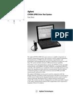Agilent GPRS Drive Test System
