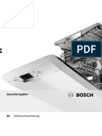 Bosch Waschmachine Manual