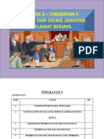 Sejarah Kertas 3 SPM Contoh Soalan Dan Jawapan Tingkatan 5