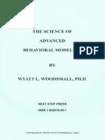Wyatt & Marilyne Woodsmall - Science of Advanced Behavioral Modeling