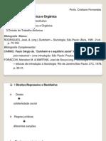Solidariedades mecânica e orgânica e Div do trab anômica - Dukheim - Socio I UFU (2).pdf