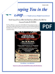Keeping You in the Loop 10 8 2014 Bel Arts Flyer