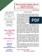 hfc october 12 2014 bulletin revised