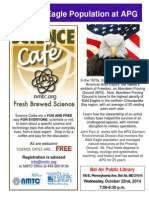 Science Cafe Flyer 22 October 2014
