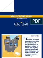 Kent State Admissions PowerPoint
