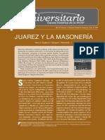 Gaceta 06 2007-Juárez y la Masonería