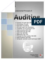 Fundamantal Principel of Auditing