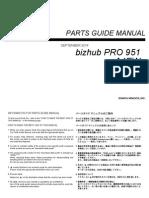 Bizhub Pro 951 Parts Manual