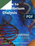 Guide to Equilibrium Dialysis