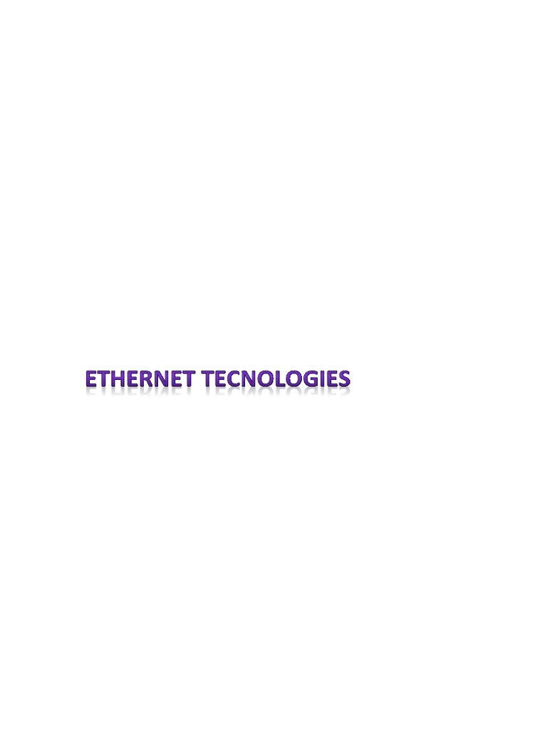 Ethernet Tecnologiesdocx Telecommunications Infrastructure Cr4 Blog Entry Diy Trailer Hitch Wiring Solutions Part 2