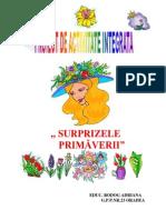 Bodog Adriana Proiect_lectie Surprizele Primaverii Redactat