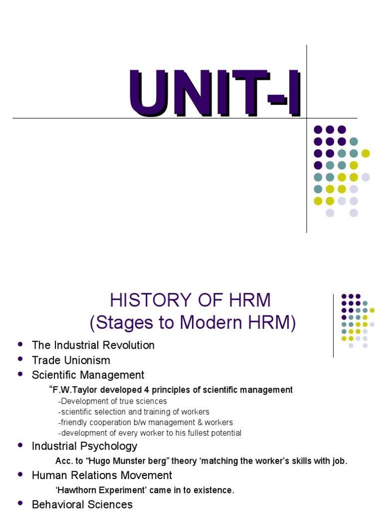 History of management development. The main stages of management development 50