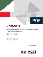 KCM-3911 Hardware Manual ACTi