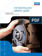 SKF Wheel Bearing Installation Guide With Free End Play