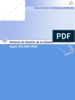 Sistema de Gestión de la Calidad según ISO 9001_2000