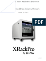 Server Rack Manual for XRackPro2 12U