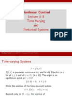 Time Varying&PerturbedSystems