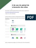 Instruções de edição dos sites.rtf
