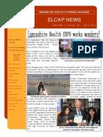 ELCAP E-Newsletter Issue 28 - Oct 2014