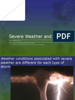 severe weather and tools