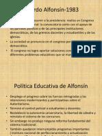 2º parte.El periodo de Alfonsín, Menem y De la Rua.pptx