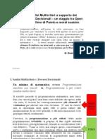 OpenDATA Analisi Multicriteri PIVA