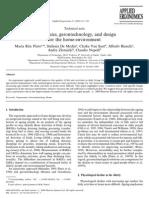 Ergonomics, Gerontechnology, And Design for the Home-Environment