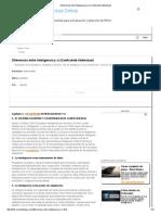 Diferencias entre Inteligencia y ci (Coeficiente Intelectual).pdf