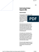01-69 Central Locking System OBD
