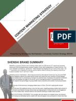 Shenshi Content Marketing Strategy