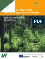 Waldbau in Österreich Auf Ökologischer Grundlage