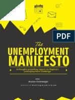 The Unemployment Manifesto