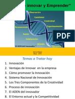 El arte de innovar y emprender 2012.ppt