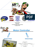 Motor design PIC microcontroller