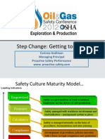 Gediman, Corinne - Safety Culture Step Change