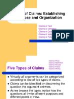 Claims 5 Types Abridged