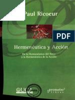 Hermenéutica y Acción - Paul Ricoeur.pdf