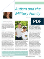 Autism and the Military Family by Lisa Rupe