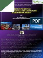 Kebijakan Pemerintah dalam Pengelolaan Bidang Kelautan di Era Otonomi Daerah