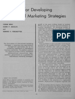 1C Guidelines for Developing International Marketing Strategies