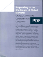 1responding to Challenges of Global Marketing